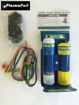 Oxy Fuel Mapp Pro Brazing Welding Kit Glasswork Soldering Silver 3000oC Oxyturbo