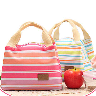 Goodly Insulated Thermal Cooler Lunch Box Carry Travel Picnic Tote Storage Bag