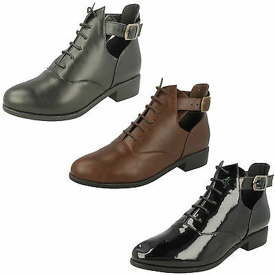 Wholesale Ladies Ankle Boots 14 Pairs Sizes 3-8  F50403