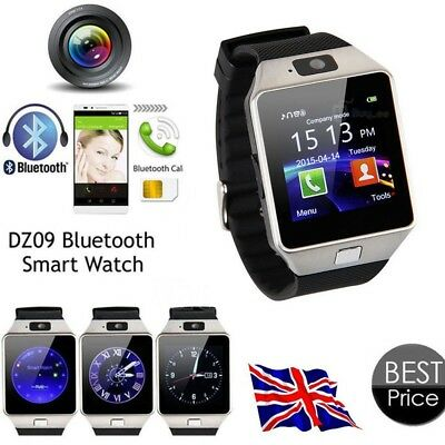 2016 Bluetooth Smart Watch For Android iOS HTC Samsung iPhone Camera SIM Slot