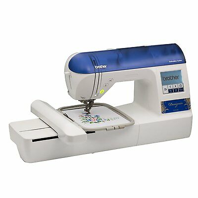"BROTHER Designio DZ820E 5x7"" Embroidery Machine + 2 Extra Hoops + Starter Kit"