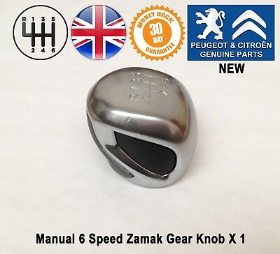 Peugeot RCZ 208 308 2008 5008 3008 Expert Manual 6 Speed Gear Knob Gearstick New