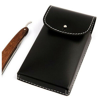 Timor Saddlery Leather Pouch for 3 Straight Razors