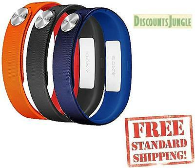Sony SWR110 SmartBand Wrist Straps band for SWR10 Black,Dark blue,Orange SIZE-L