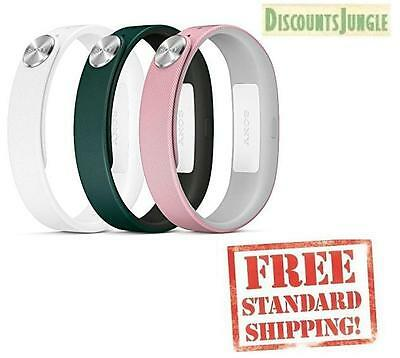 Sony SWR110 SmartBand Wrist band Straps for SWR10 COLOR White,Green, pink SIZE-S