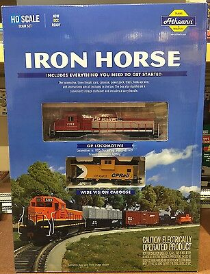 Athearn Iron Horse Canadian Pacific CPR Train Set - DCC Ready - HO Scale