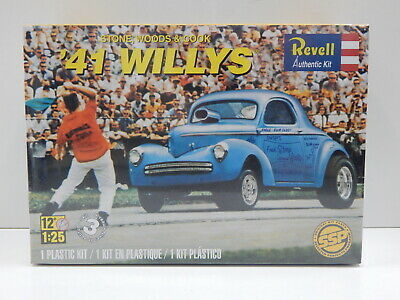 1:25 Stone,Woods & Cook 1941 Willys Revell 1287
