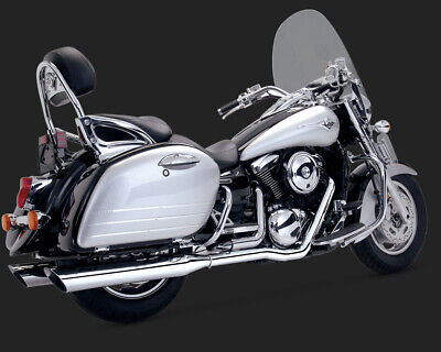 Vance & Hines TOURING DUALS VULCAN 1500 NOMAD 99-04 / 1600 NOMAD 99-08