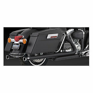 Vance & Hines BIG SHOT DUALS BLACK TOURING 2009