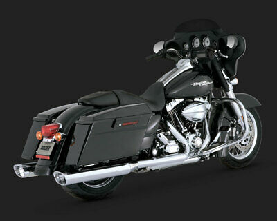 Vance & Hines MONSTER OVALS WITH CHROME TIP TOURING 95-15