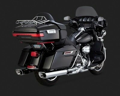 Vance & Hines MONSTER SQUARED SLIP-ONS TOURING 95-15
