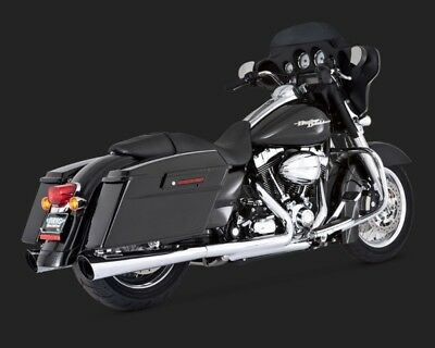 Vance & Hines TAPERED SLASHCUT SLIP-ON TOURING 95-15