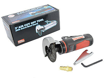 """3"""" Air Cut Off Tool Grinder Cutter Tools With Swivel Metal Guard TECHNIC"""