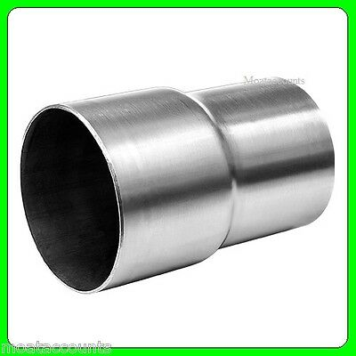 51mm to 57mm Steel Standard Exhaust Reducer [SWUXR2] Connector Pipe Tube