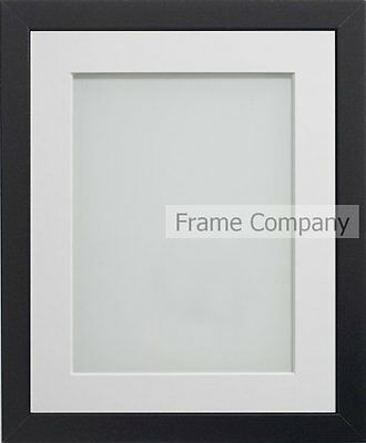 Frame Company Black Modern Picture Photo Poster Frame & Choice of Photo Mount