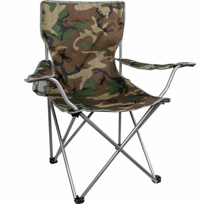 Highlander Folding Camping Chair - Camouflage