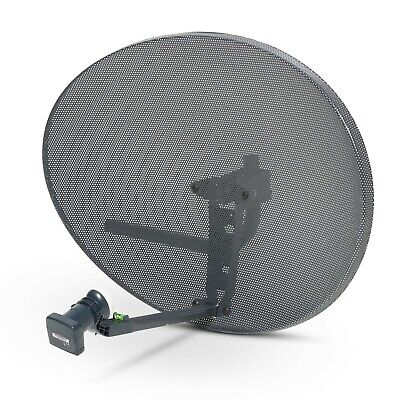 Zone 2 Sky Satellite Dish MK4 And 8 Way Octo LNB For Sky + HD Plus Freesat PVR