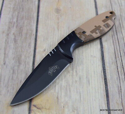 Master Usa Fixed Blade Hunting Knife With Nylon Sheath 11.75 Inch Overall