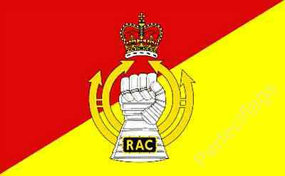 ROYAL ARMOURED CORPS FLAG - BRITISH MILITARY FLAGS - Size 5x3 Feet