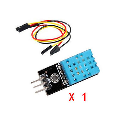 1x New DHT11 Temperature and Relative Humidity Module Sensor for arduino fu