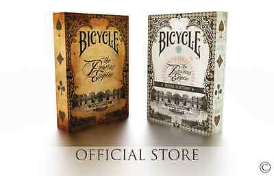 Set of THE PERSIAN EMPIRE playing cards branded by Bicycle (1 Original +1 Royal)