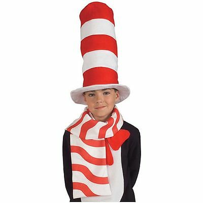 Cat in the Hat Scarf  Child Costume Accessory Rubies 2497