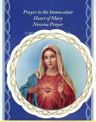 "Immaculate Heart of Mary - 3"" Window Sticker"