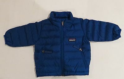 PATAGONIA BABY DOWN SWEATER blue  3M NWT boys girls coat winter
