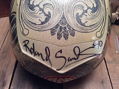 "New AUTOGRAPHED Bell Star L Carbon RSD ""C-Note"" Helmet + BONUS - Collector Item!"