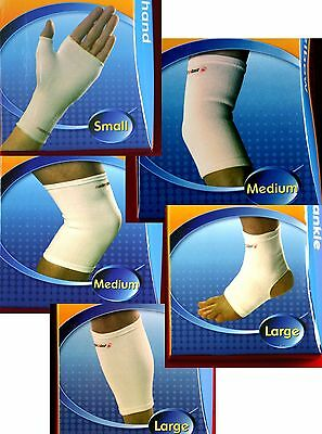 New Elastic Sport Support Elbow Hand Knee Calf Ankle Protect Injury Sprain Twist