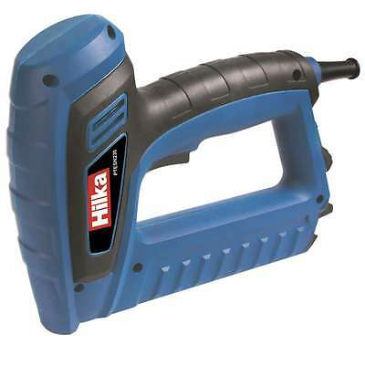 Hilka Electric 2 In 1 Upholstery Staple & Nail Gun Tacker & 500 Staple Nail 230V