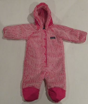 New Baby Conejito Bunting PATAGONIA size 2T Pink full winter suit $119 girls