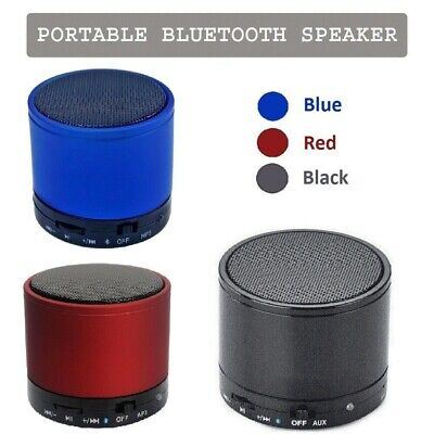 Bluetooth Wireless Mini Portable Speaker For All Mobile Phones Tablets Iphone