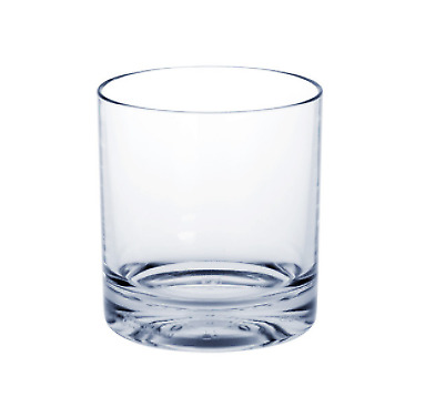 10er Set Whiskey-Glas SAN - Kunststoff