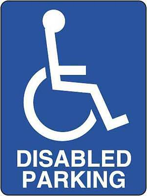 Disabled Parking 450x300mm Safety Sign Traffic