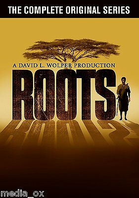 The Complete Roots Collection: Original TV Series Box Set | New | Sealed | DVD