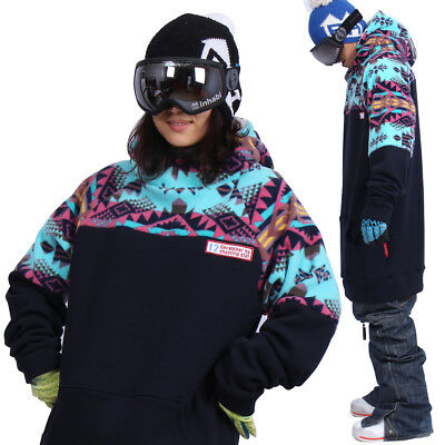 December long tall hoodie ski snowboard sports-gaia navy