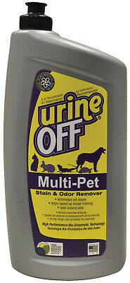 Urine Off Multi Pet 32oz Oval Bottle W/Carpet Injector Cap  MR1051