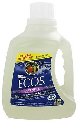 Earth Friendly - ECOS Hypoallergenic Laundry Detergent with Built-In Fabric