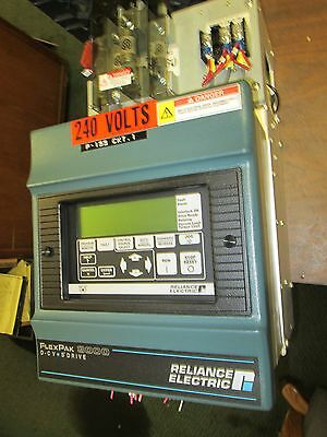Reliance FlexPak 3000 DC Drive w/ Manual 20F34042 20HP Used
