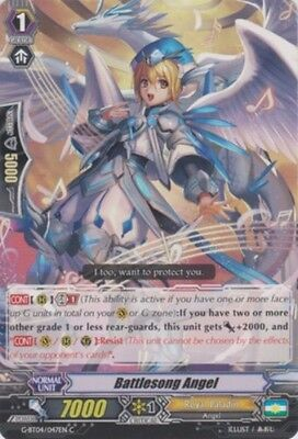 x4 Battlesong Angel G-BT04//047EN C CFV M//NM