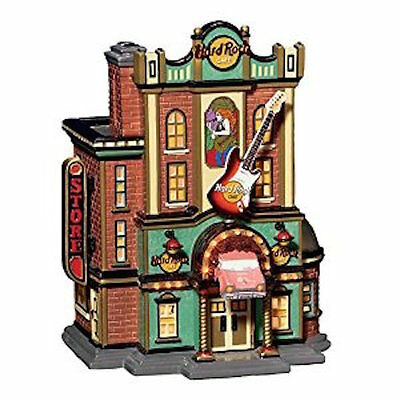 Department 56 Hard Rock Cafe Snow Village # 56.55324 in Box Christmas VGUC