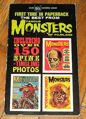 THE BEST FROM  FAMOUS MONSTERS OF FILMLAND # 1 (PB )