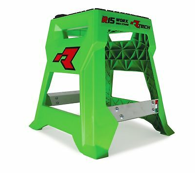 Racetech NEW Mx R15 Green Kawasaki Worx Motorcycle Motocross Dirt Bike Stand