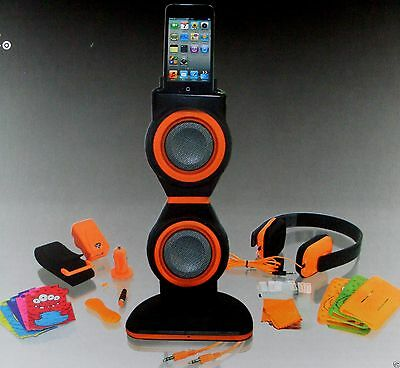 NEW RRP$180!!~ iCoustic (20 in 1) Accessory Kit iPod Touch 4TH GEN Boxed ~ Aust.