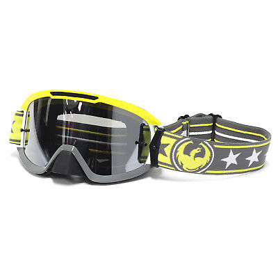 Dragon NEW Mx MDX2 Rockstar Yellow Tinted Ion lens Motocross Dirt Bike Goggles