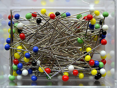 Glass Head - Pins 2/0 - Sister Tattoo Needles 30 gr