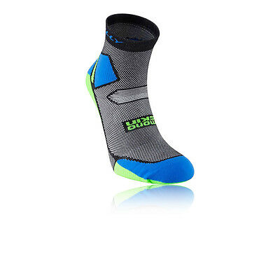 Hilly Skyline Hommes Gris Bleu Trail Chaussettes Course Socquettes Sport Running