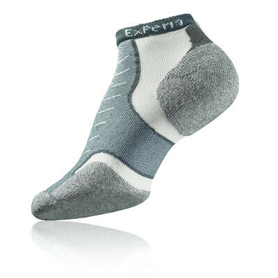 Thorlo Experia Mens Womens Grey Running Athletic Breathable Anklet Socks New