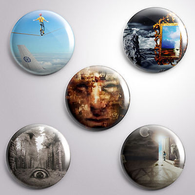 5 DREAM THEATER -  Pinbacks Badge Button 25mm 1''..